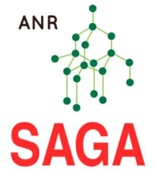 ANR Project Saga Logo